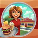 Burger Bustle: Ellie's Organics - logo