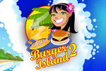 Cook burgers, omelets, and nachos for hungry customers in Burger Island 2!