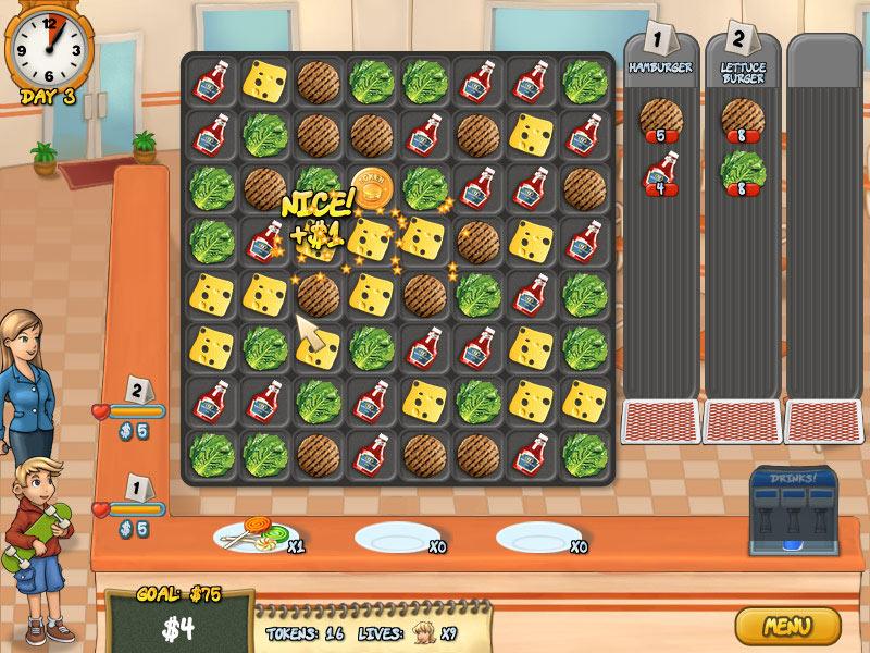 Burger Rush screen shot