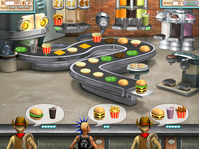 Burger Shop screen shot