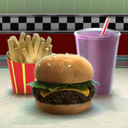 Burger Shop 2 - Use the BurgerTron2000 in Burger Shop 2 to satisfy hungry customers! - logo