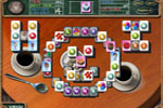 Screenshot of Cafe Mahjongg