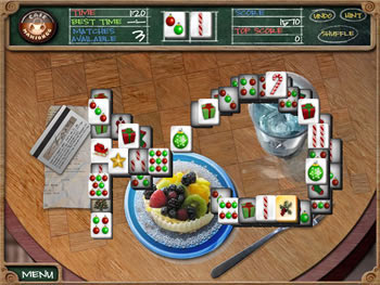 Cafe Mahjongg screen shot