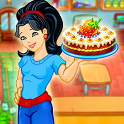 Cake Mania - Help Jill run a charming, yet demanding, bakery in Cake Mania! - logo