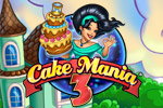 Jill works her cake-making magic throughout history in Cake Mania 3!