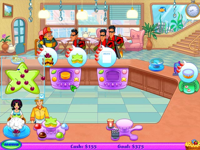 Cake Mania - Lights, Camera, Action! screen shot