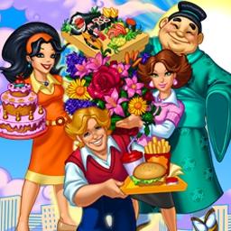 Cake Mania Main Street - Help Jill Evans revitalize her hometown in Cake Mania Main Street! - logo