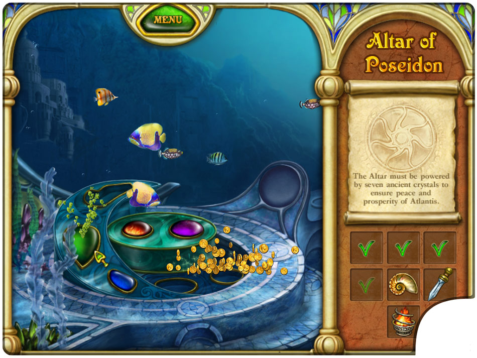 Call of Atlantis: Treasures of Poseidon Collector's Edition screen shot