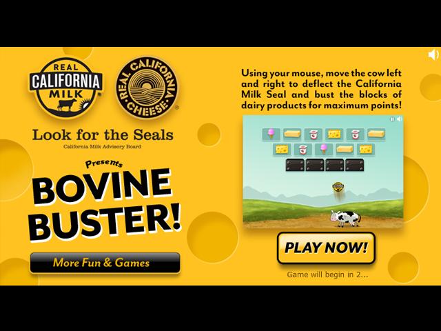 Bovine Buster screen shot