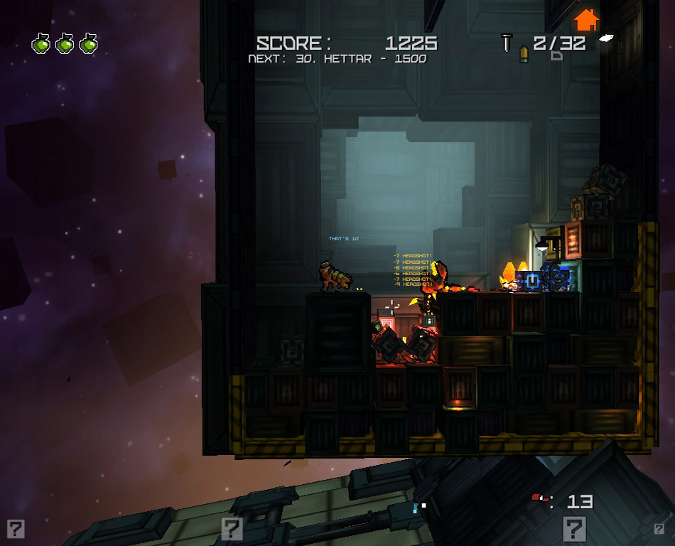 Cargo Commander screen shot