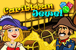 Get ready for some piratical match 3 action!  In Caribbean Jewel, it's your job to rescue the captain's fiancée and his treasure map!