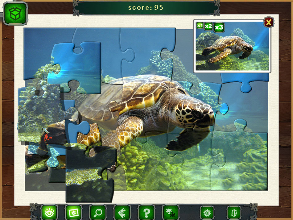 Caribbean Jigsaw screen shot