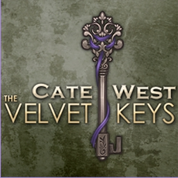 Cate West - The Velvet Keys - Solve a new mystery and meet an old enemy in Cate West - The Velvet Keys. - logo