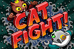Make matches to earn resources and build a great feline army in Cat Fight!