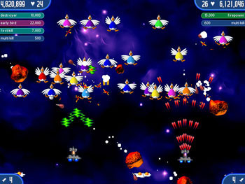 Chicken Invaders 2 - The Next Wave screen shot