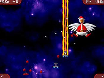 Chicken Invaders 2 - The Next Wave Christmas Edition screen shot