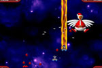 Screenshot of Chicken Invaders 2 - The Next Wave Christmas Edition