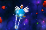 Screenshot of Chicken Invaders 3 - Revenge of the Yolk