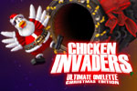 Save Earth from 'fowl play' in the Christmas edition of Chicken Invaders 4: Ultimate Omelette!