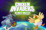 Fight through 120 waves of invading chickens. Collect holiday-themed weapons, bonuses, and secrets in Chicken Invaders 4 Easter Edition!