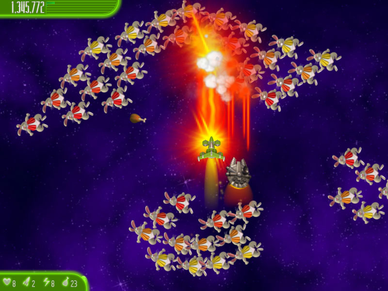 Chicken Invaders 4 Easter Edition screen shot
