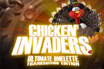 Three years ago, the turkeys revolted! Will humans ever have Thanksgiving again?  Find out in the arcade game Chicken Invaders 4 Thanksgiving Edition!