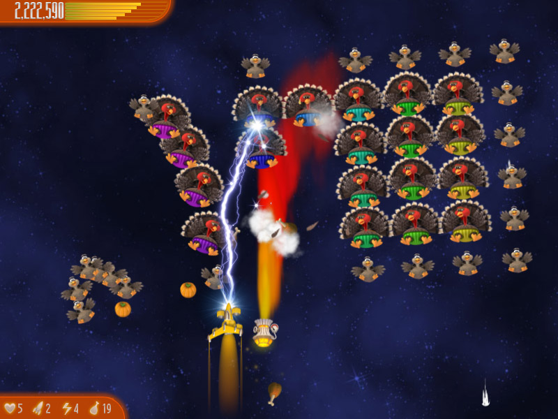 Chicken Invaders 4 Thanksgiving Edition screen shot