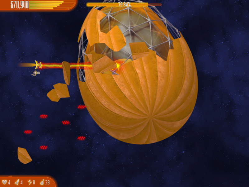 Chicken Invaders 4 Thanksgiving Edition screen shot