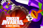 Save Earth from 'fowl play' in Chicken Invaders 4: Ultimate Omelette!