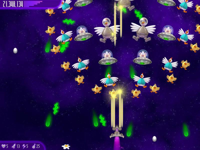 Chicken Invaders 4: Ultimate Omelette screen shot