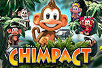 Prepare for Chimpact!  Collect gems, medallions and bananas by chucking your chimp through stunning jungle landscapes.