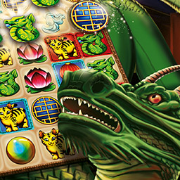Chinese Dragon - Play through 100 match 3 levels and save the New Year in the game Chinese Dragon! - logo