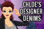 Help Chloe run her funky designer boutique in Chloe's Designer Denims!