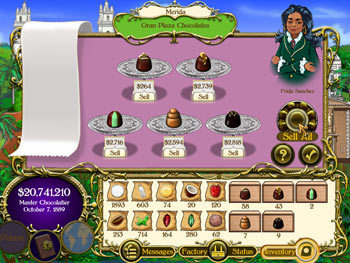 Chocolatier screen shot