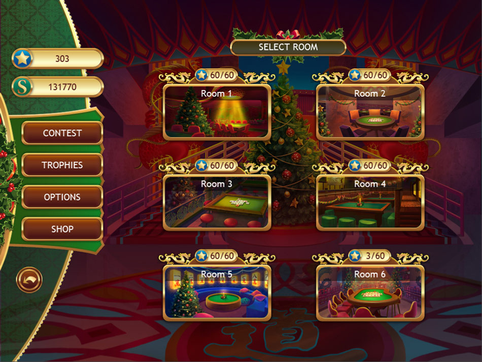 Christmas Griddlers screen shot