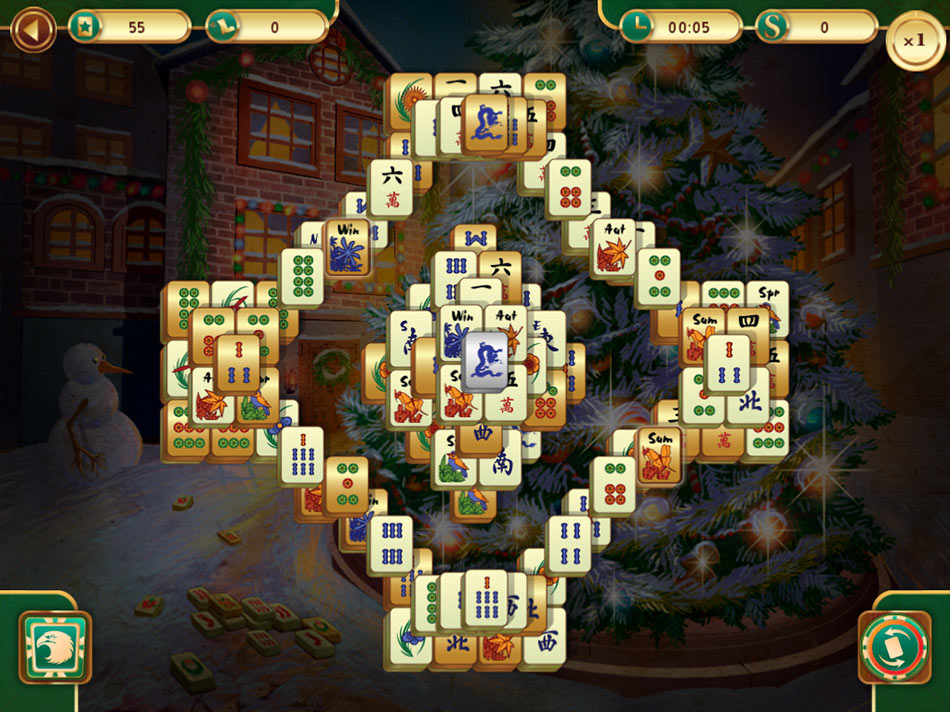 Christmas Mahjong screen shot