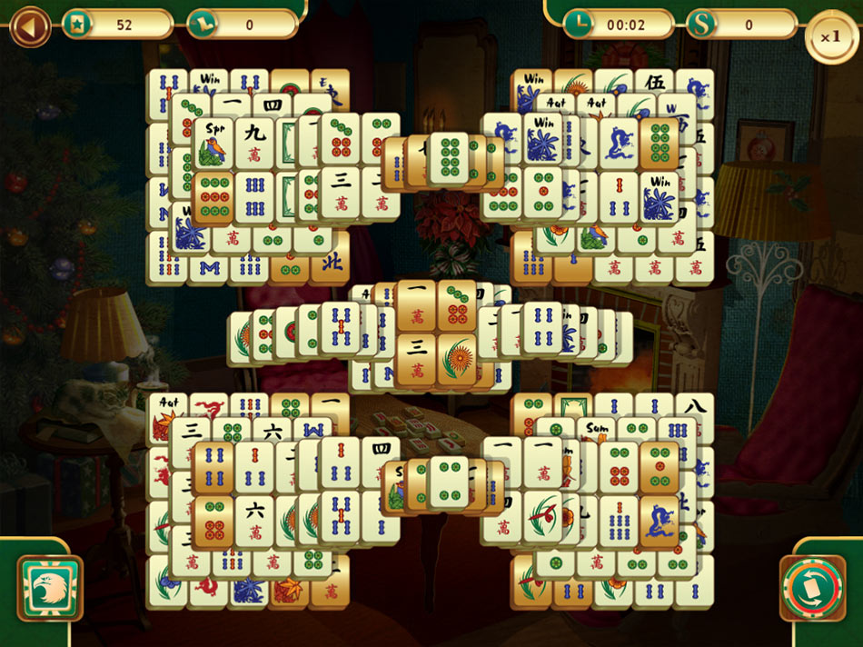 Christmas Mahjong screen shot
