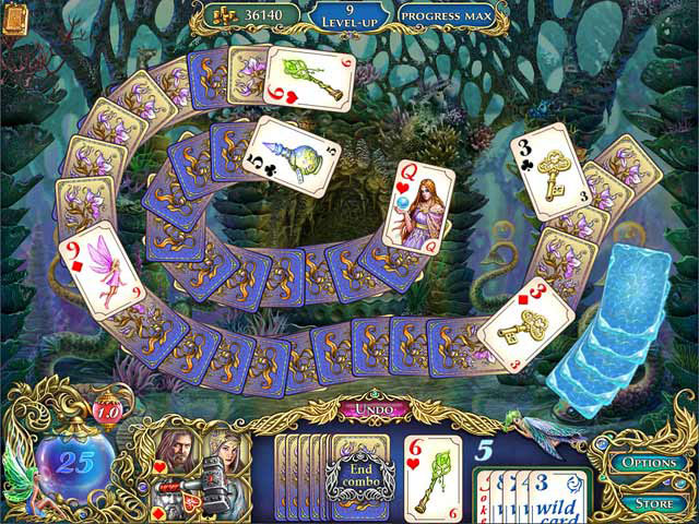 The Chronicles of Emerland Solitaire screen shot