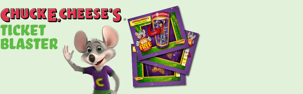 Chuck-E-Cheese Ticket Blaster