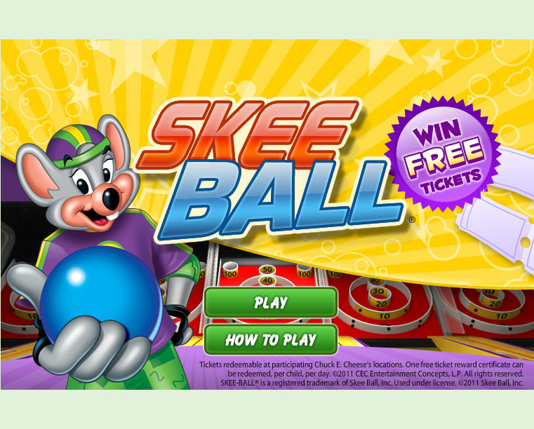 free chuck e cheeses games online