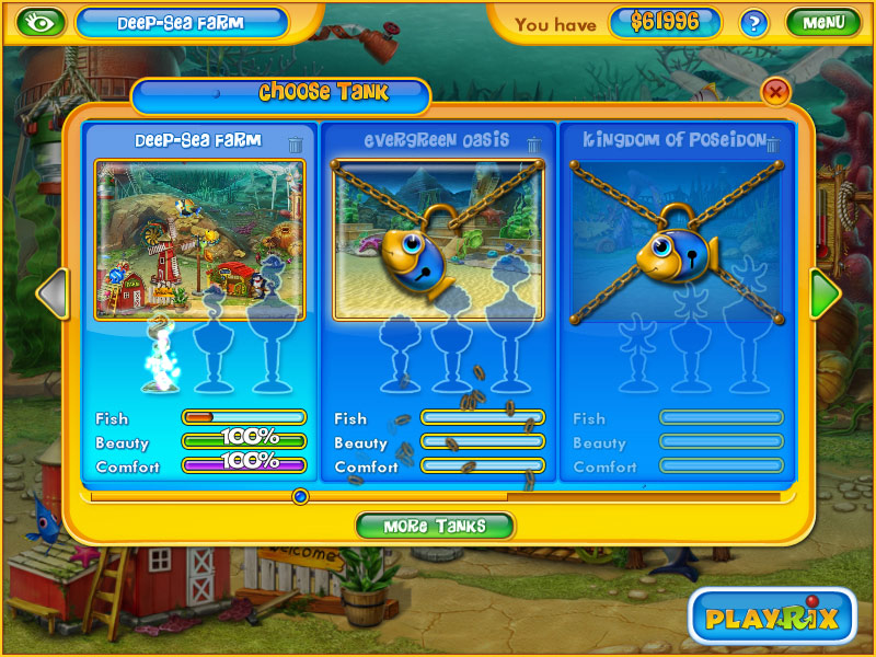 Classic Fishdom 2 in 1 Pack screen shot