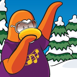 Club Penguin - Waddle around, make new friends, explore and play games in Club Penguin! - logo