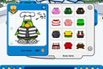 Screenshot of Club Penguin