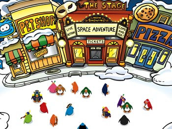 Club Penguin screen shot