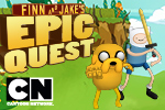 The Land of Ooo has been transformed into a giant video game. It's your job to find out why in Adventure Time: Finn & Jake's Epic Quest!