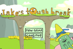 Screenshot of Adventure Time: Jake's Tough Break