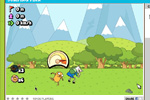 Screenshot of Adventure Time: Jumping Finn