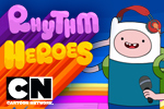 Enter the fantastical, musical Land of Ooo! Rock out as Finn and Jake jam with all your favorite characters in Adventure Time: Rhythm Heroes!