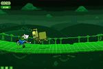 Screenshot of Adventure Time: Rhythm Heroes
