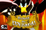 Daffy Duck the Wizard is in search of the ultimate magic power! Play Behold the Wizard and more FREE Looney Tunes online games on Cartoon Network!